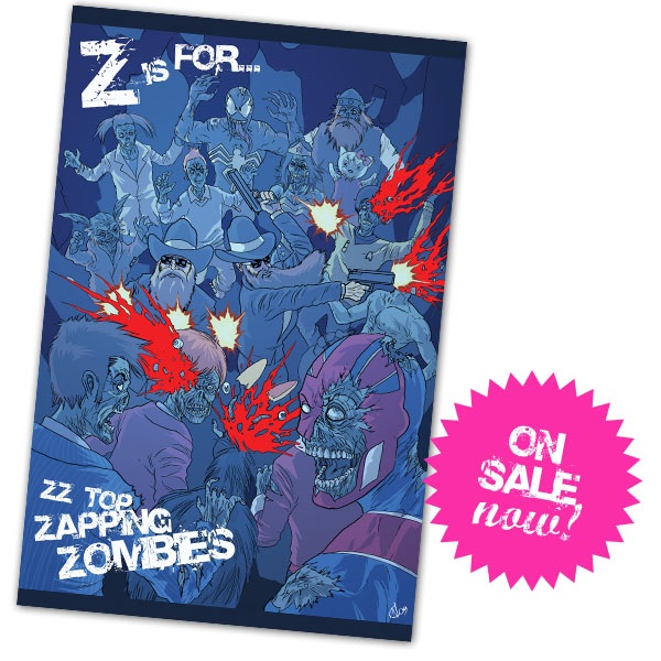 Zombie Poster ONSALENOW