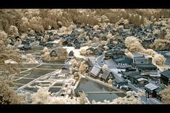 Shirakawago, japan (bbq_0406) Tags: japan landscape ir village infrared ricoh shirakawa gx100