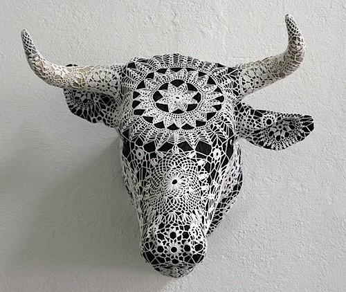 crochet antlers