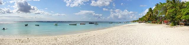 Mauritius - Trou aux biches beach panorama 4