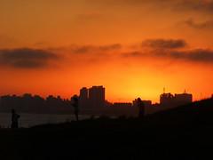 Atardecer Punta del Este (Orne ✿) Tags: sunset paisajes uruguay tramonto mare atardeceres playas puntadeleste