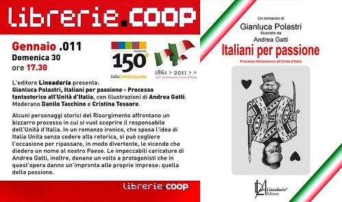 Presentazione romanzo ITALIANI PER PASSIONE