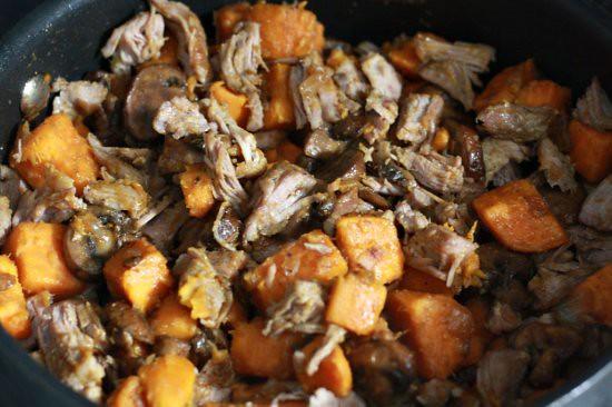 Pork & Sweet Potato Hash