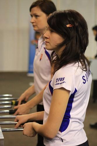 joueuse slovaque avec barette