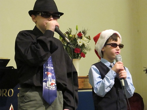 Christmas Concert - Hot Rod singing Rudolph the Red Nosed Reindeer