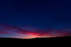 Blue (Bob b...) Tags: pink blue sunset sky manchester adventures contrails huddersfield marsden rbphotography