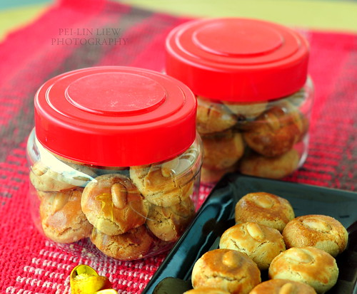 Traditional Chinese Peanut Cookies 花生酥(餅)