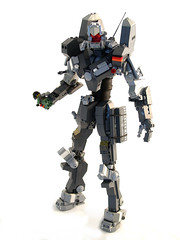 CEC Gewaltiges Aufsatztier (Mechanekton) Tags: lego space military roar mecha mech evangelion cec eva01 biomachine