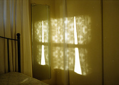 light love (scott w. h. young) Tags: light love film window wall 35mm mirror bedroom curtains