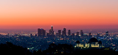 Observatory At Dawn (-william) Tags: dawn lights griffithparkobservatory cool1