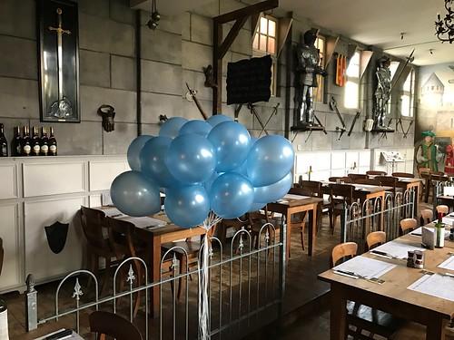 Heliumballonnen Babyshower Wapen van Poortugaal