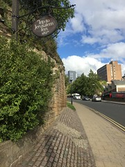 Nottingham (South Strand Trucking) Tags: castle c oldest notts pub camper