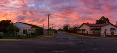 From my back gate. (johnwilliamson4) Tags: backgate sunset adelaide southaustralia australia