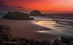 Shine On (Laura Macky) Tags: sutrobaths ocean pacific beach sunset landscape seascape sanfrancisco