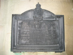 Photo of John George Lambton and Thomas Beddoes black plaque