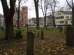 old dutch churchyard