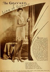 Vintage Advert for Gossard Corsets - Photoplay Jan 1929 (CharmaineZoe) Tags: 1920s vintage magazine advertising ad advertisement nostalgia advert product photoplay twenties filmmagazine