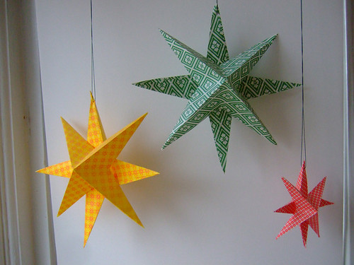 Tutorial: Super Simple Paper Stars | annekata
