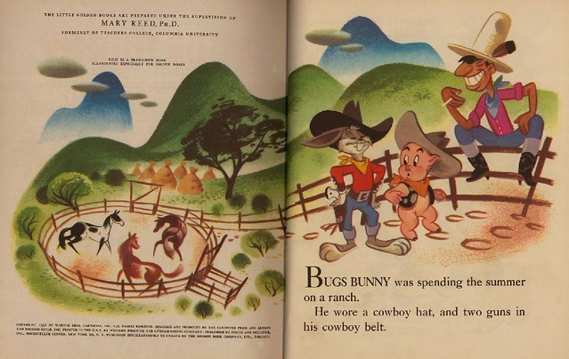 Bugs Bunny & the Indians003