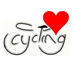 I love cycling me