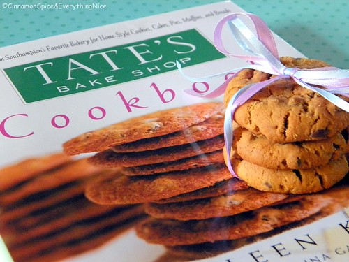 Tate's Bake Shop Cookbook and Cookie Giveaway