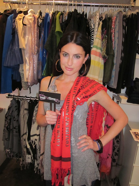 Samantha Gutstadt, Leigh and Luca Scarves, P3R Publicity Style Sessions