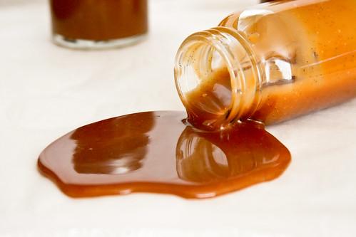 Salted Vanilla Bean Caramel Sauce