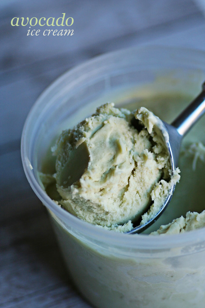 avocado icecream!