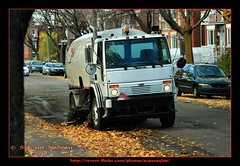 Les Dernires Feuilles... The Last Leaves (Supersyl08) Tags: autumn trees fall leaves automne fallcolors arbres feuilles couleursdautomne streetsweeper balaimcanique afhht