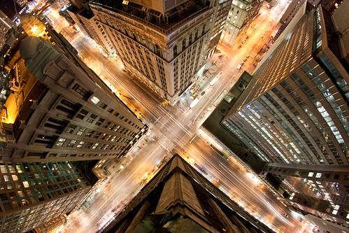 フリー写真素材, 建築・建造物, 都市・街, 道路・線路, 高層ビル, 夜景, カナダ, トロント,