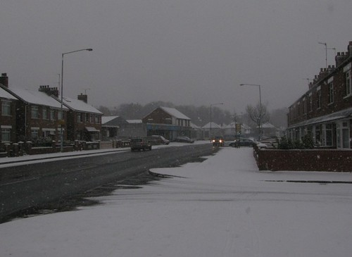 Snow in North Belfast
