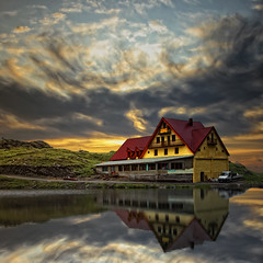 Reflection - In Explore (George Nutulescu) Tags: travel sky mountain lake color reflection colors clouds expression cabana romania processing wonderland glaciar hdr cabane paragon hostal ourtime balea greatphotographers likethis kartpostal fantasticnature nikond40 flickraward concordians thisphotorocks vertorama spiritofphotography photoshopcreativo artcontemporany saariysqualitypictures absolutegoldenmasterpiece qualitysurroundings magicunicornverybest sailsevenseas coppercloudsilvernsun outstandingromanianphotographers whaticallart oracobe