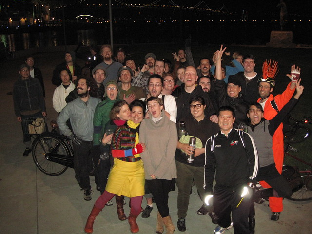 San Francisco 1st bike party