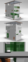 3DVIA - Home Office Tour (threedvia) Tags: building art architecture interior 3dart 3dmodel dwelling 3dvia 3dviatop10 3dviatop10094