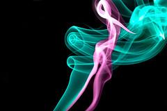Lady in the Smoke (Bryan Nabong) Tags: smoke inthedark macromondays