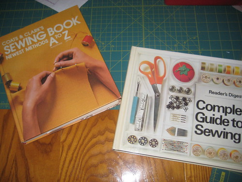 Thrift Store Sewing Books
