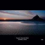 Sunset at Mont Saint Michel