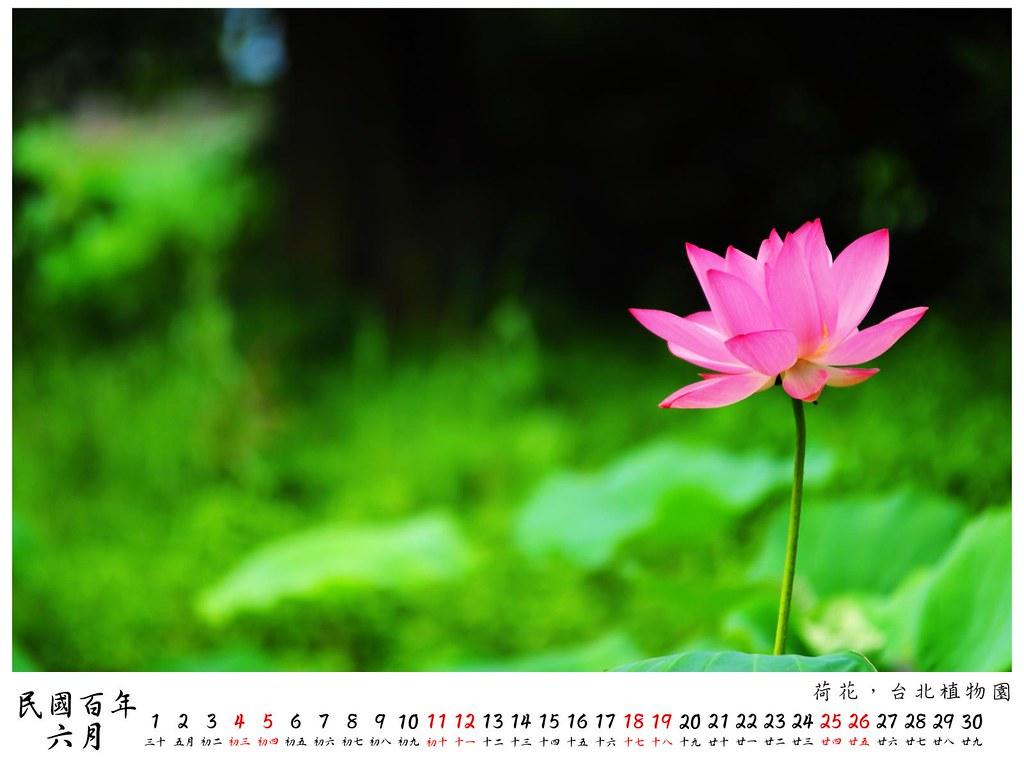 2011 桌曆9 6月