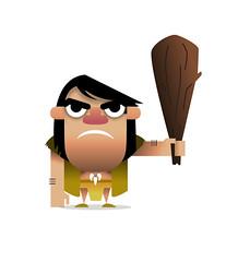 Caveman (Dave Flanagan 77) Tags: illustration character vector caveman