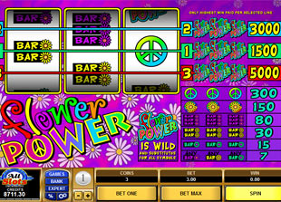 Flower Power slot game online review