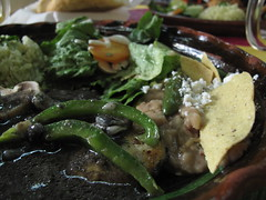 Chicken with Huitlacoche - Mamita's, Mexico City, Mexico