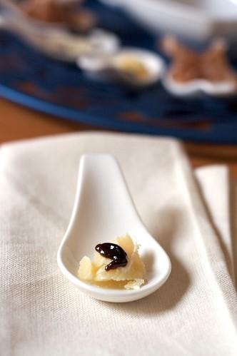 1 - Parmigiano Reggiano Bio 60 mesi e Gelatina di Balsamico