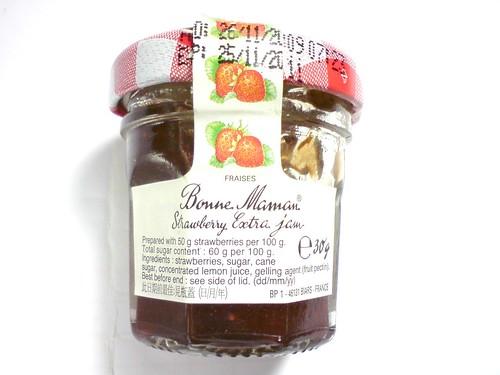Bonne Maman草莓果醬背面DSC01728