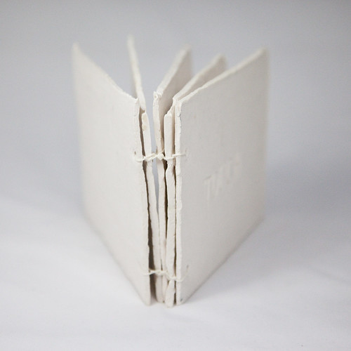 Paper Clay Book Coptic Binding