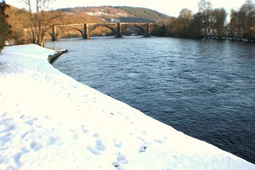 River Tay in Winter