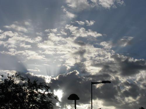 El cielo en Rascafría