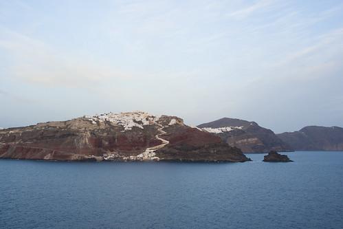 Isla de Santorini, la villa de ia by Vic Riedemann