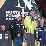 Sasha Zaitsoff (Red Mountain Racers) finishes 4th at Panorama Nor-Am Super Combined 2010 PHOTO CREDIT: Sean Frith