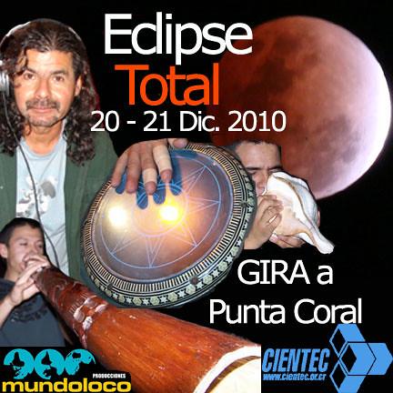 Invitación Gira Eclipse Total de Luna, 20-21 Dic. 2010