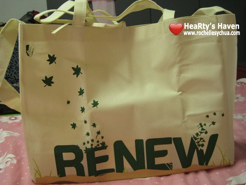 renew sm eco bag